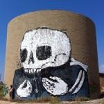 Klone New Mural In Tel-Aviv, Israel