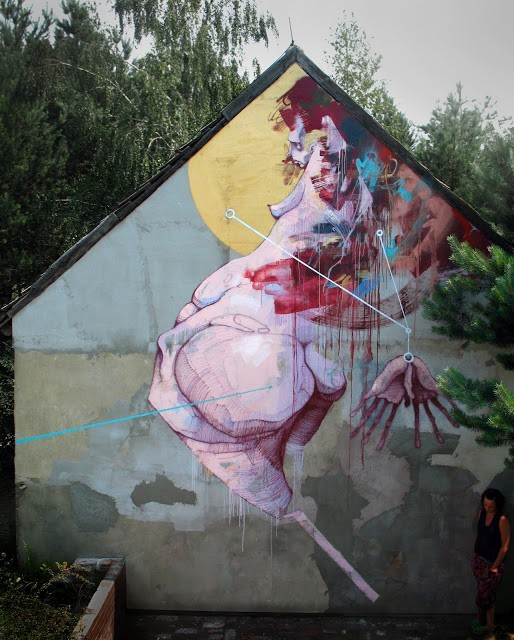 Sepe New Mural In Krezel, Poland