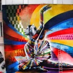 "Kobra ""The Dancer"" New Street Art – Moscow, Russia"