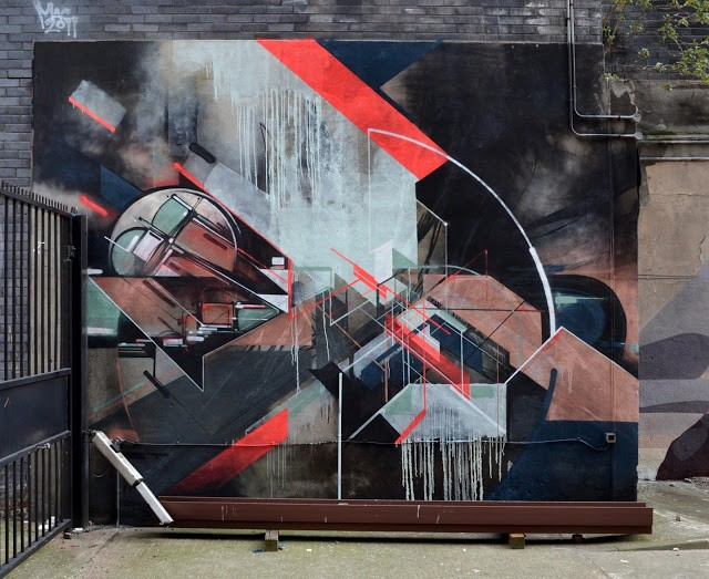 Nawer x Kofie New Mural In London