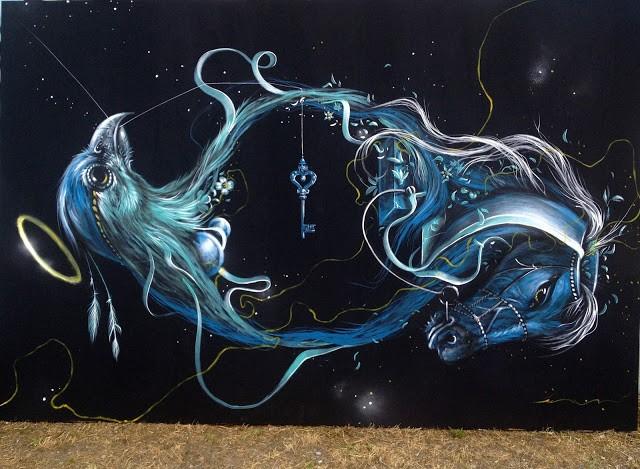 Kraser Tres New Mural In Sarezzo, Italy