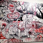"""LA Freewalls Inside"" Los Angeles Group Show Opening Coverage"