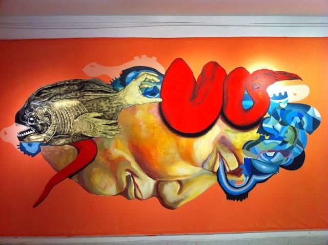 La Pandilla x Ever New Mural In Lima, Peru