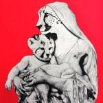 "JUFE – La Pandilla ""Madonna"" StreetArtNews Print"