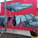 La Pandilla New Mural In Miami, USA