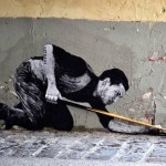 "Levalet ""Demineur"" New Street Piece – Paris, France"