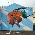 Liqen New Mural In Ponta Delgada, Azores (Part II)