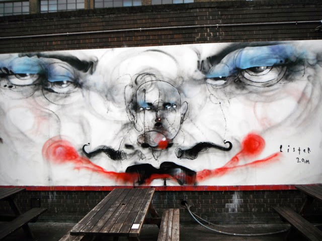 Anthony Lister New Murals In London, UK