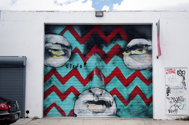 Anthony Lister New Murals In Miami, USA