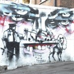 Anthony Lister New Mural In London, UK (Part II)