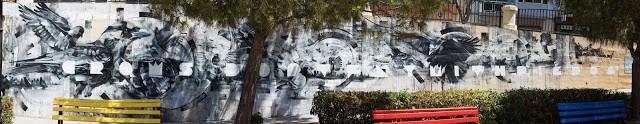 Steve Locatelli x Smates New Mural In Sliema, Malta
