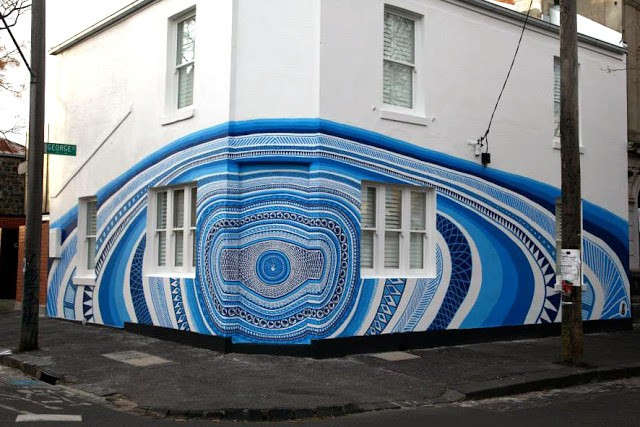 Lucas Grogan New Mural In Fitzroy, Australia