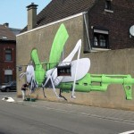 Ludo New Mural In La Louviere, Belgium