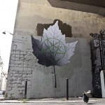 "Ludo ""Autumn Leaf"" New Street Piece In Paris, France"