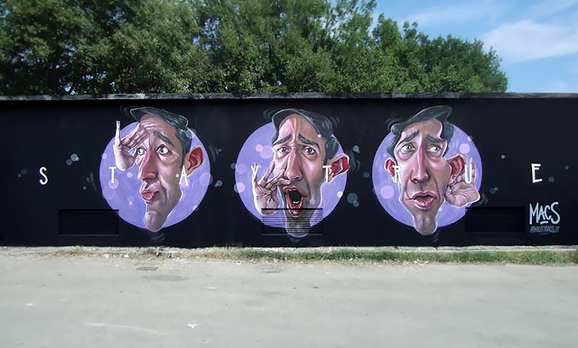 Macs New Mural In Lanciano, Italy