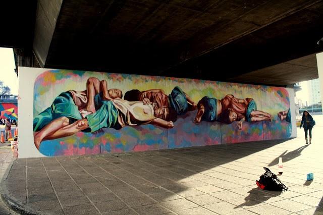 El marian new mural for proyecto puente in cordoba for El mural pelicula argentina
