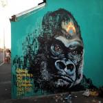 Masai New Murals In Cape Town, South Africa