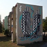 M-City New Mural In Kosice, Slovakia