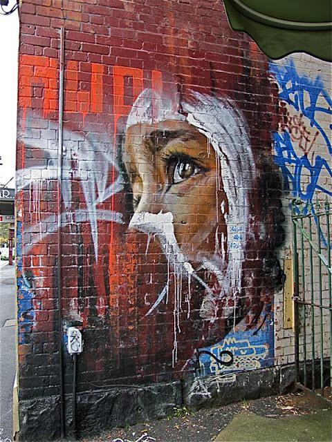 Adnate new mural in melbourne australia streetartnews for Australian mural