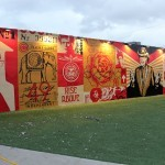 Shepard Fairey New Mural In Miami, USA