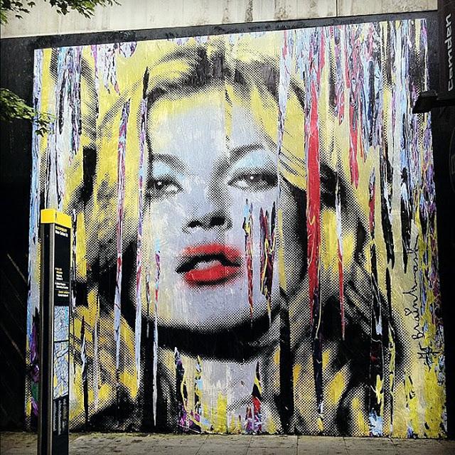 Mr brainwash new mural in london streetartnews for Mural painted by street artist mr brainwash