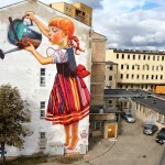 Natalia Rak New Mural For Folk On The Street – Białystok, Poland