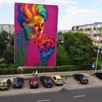 Natalia Rak New Mural In Turek, Poland