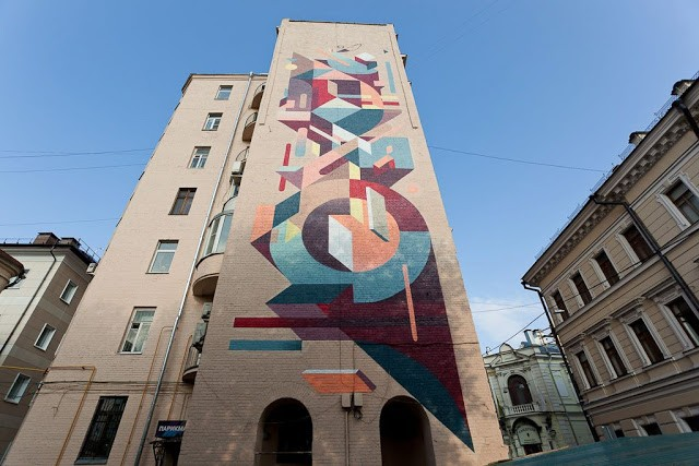 Nelio New Mural In Moscow, Russia