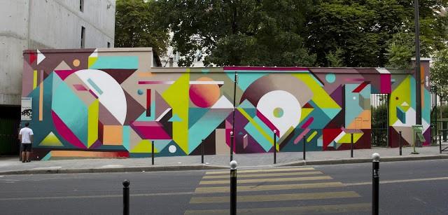 Nelio New Mural In Paris, France