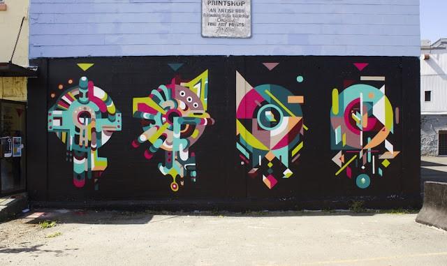 Nelio x Tekar New Mural In St. John's, Canada