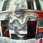 Never2501 New Mural In Genova, Italy