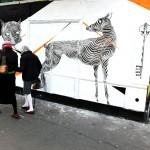 2501 New Mural In Paris, France