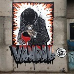 Nick Walker New Street Pieces In Sao Paulo, Brazil