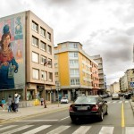 """""""Enchanted Moura"""", a new mural by Nomada in Carballo, Galicia"""