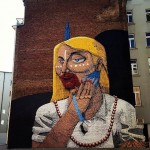 Nunca New Mural In Frankfurt, Germany