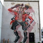 Nychos New Mural In Windsor, Canada