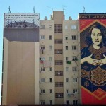 "Shepard Fairey ""Paz Y Libertad"" New Mural For Maus Malaga – Spain"