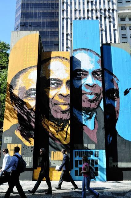 Orticanoodles New Mural In Rio, Brazil