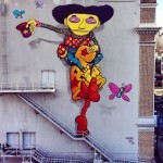 Os Gemeos x Mark Bode New Mural At The Warfield Theatre – San Francisco, USA