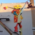 Work In Progress By Os Gemeos and Mark Bode at The Warfield Theatre – San Francisco, USA