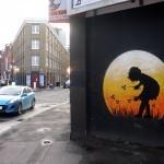 Otto Schade New Mural In London, UK