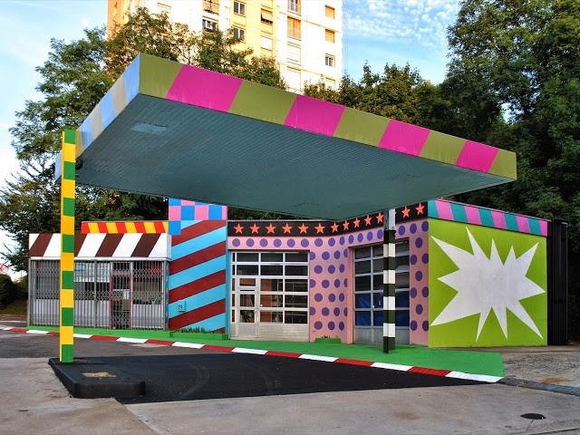 OX New Installations For Bien Urbain '13 – Besancon, France