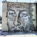 Vhils New Murals in Paris, France (Part II)