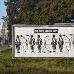 "Peter Fuss ""The Pope Smokes Dope"" New Street Piece – Gdynia, Poland"