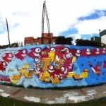 Pez New Murals In Bogota, Colombia