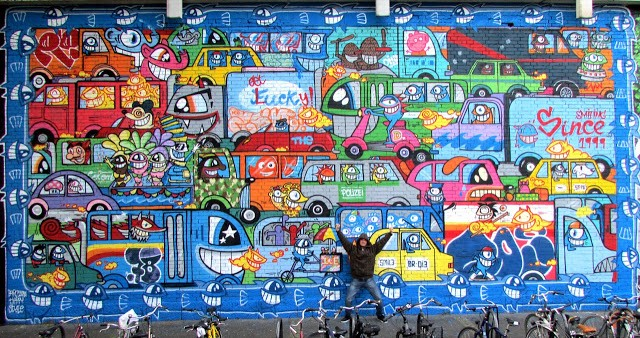 Pez New Mural In Koln, Germany