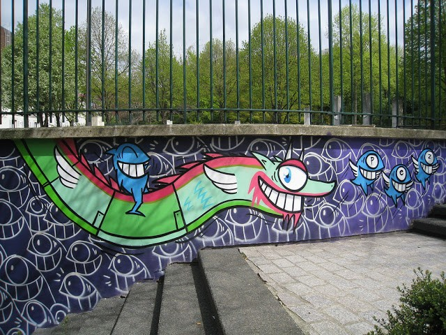Pez New Street Pieces In Paris, France (Part II)