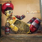 Pixel Pancho New Mural In Baltimore, USA (Part II)
