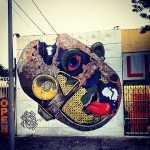 Pixel Pancho x Chase New Mural In Los Angeles, USA