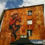 "Robert ""Tone"" Proch New Mural In Lublin, Poland"